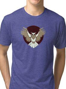 Owl Legion Guild Emblem Tri-blend T-Shirt