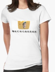 Mac (DeMarco) 'n' Cheese Womens Fitted T-Shirt