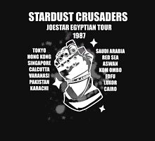 Stardust Crusaders: Joestar Egyptian Tour 1987 Unisex T-Shirt