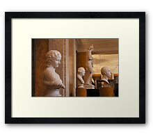 Enlightenment Room: A Gentleman's Library I Framed Print