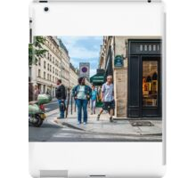 Paris Street Scene iPad Case/Skin