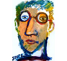 self in oil on paper Photographic Print