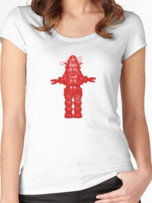 Robby Robot Women's Fitted Scoop T-Shirt