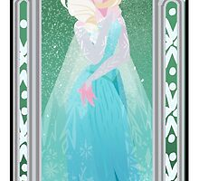 Saisons de Arendelle Winter by Shelby  Wolf