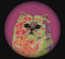 Psychedelic Cat II Kids Clothes