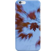 Abstract Impressions of Fall - Autumn Wind Melody iPhone Case/Skin