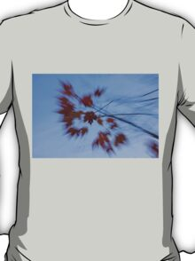 Abstract Impressions of Fall - Autumn Wind Melody T-Shirt
