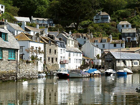 Polperro Reflections by saxonfenken