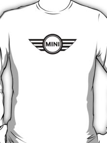 Simple MINI cooper black T-Shirt