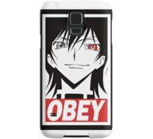 Code Geass Obey  Samsung Galaxy Case/Skin