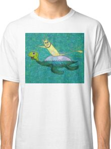 CAT AND MYRTLE C. TURTLE Classic T-Shirt