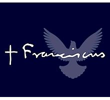 Pope Francis Signature Dove Photographic Print