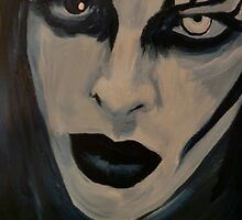 Marilyn manson portrait by Lianne Oost