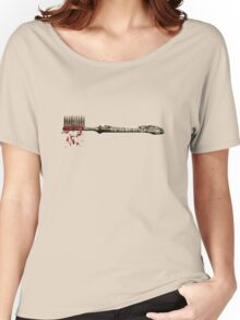 Blood Brush Women's Relaxed Fit T-Shirt
