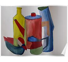 The colourfull still life Poster