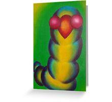 Caterpillar. Greeting Card