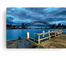 From the Wharf Canvas Print