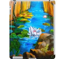 Lotus Pond 11 iPad Case/Skin