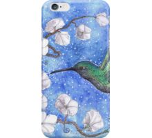 Green Humming bird iPhone Case/Skin