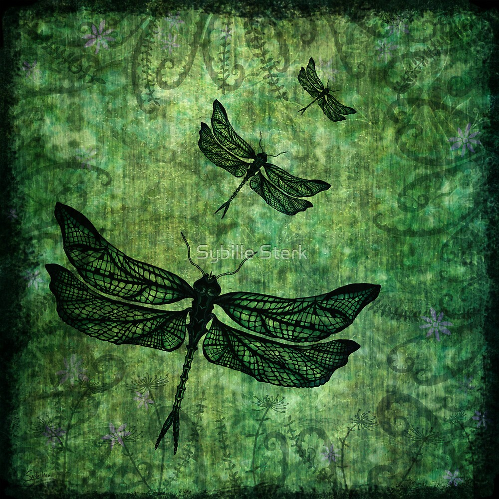 Fly, Fly Away - Version 2 by Sybille Sterk