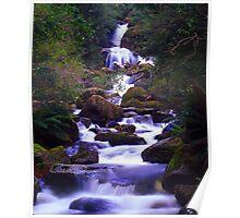 Keppell Falls, Marysville Poster