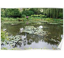 Giverny Reflections Poster