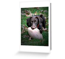 Let's Play Football!!! Greeting Card