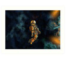 Space Man Art Print