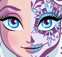Sugar Skull Series: Elsa Sticker