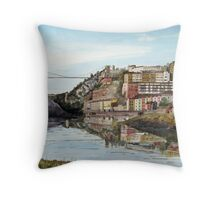 """Brunel's Bridge"" - Bristol Throw Pillow"