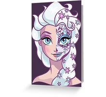 Sugar Skull Series: Elsa Greeting Card