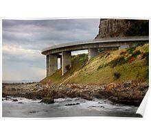 Curve the Bridge Poster