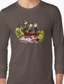 Team Free Will Goes Exploring Long Sleeve T-Shirt