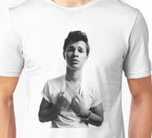 Ansel Elgort - Black & White Unisex T-Shirt