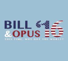 Bill & Opus '16 by gdunc