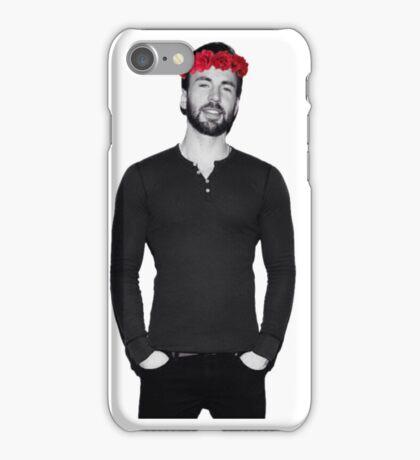 Chris Evans - Flowercrown iPhone Case/Skin