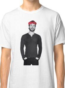 Chris Evans - Flowercrown Classic T-Shirt