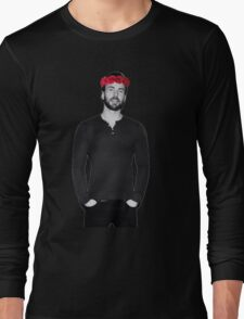 Chris Evans - Flowercrown Long Sleeve T-Shirt