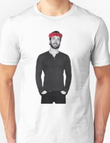 Chris Evans - Flowercrown T-Shirt