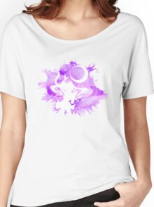 Sailor Moon - Purple Watercolor Moon Women's Relaxed Fit T-Shirt