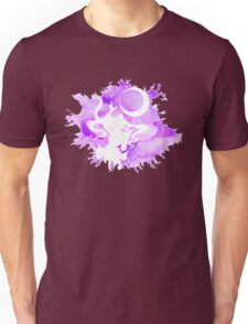 Sailor Moon - Purple Watercolor Moon Unisex T-Shirt