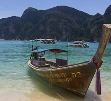 Taxi Boat - Ko Phi Phi by thecaswell
