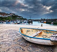 Cornwall - New Quay Harbour by Michael Breitung