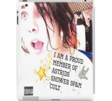 Astrid's Shower Spam Cult! iPad Case/Skin