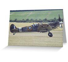Spitfire MK IX Greeting Card