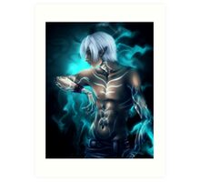 Lyrium Ghost - Fenris Art Print