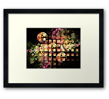 Space to create Framed Print