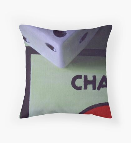 A Twist of Fate Throw Pillow