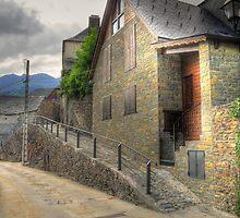 Lonely street in Canejan, Spain by Hans Kool