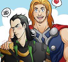 Thor Loki by HerrDerrr